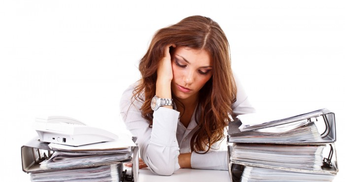 Stress unreine Haut und Pickel